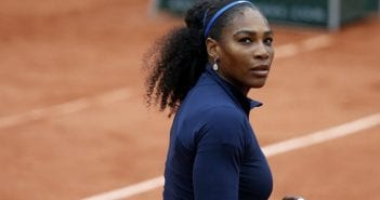 Tennis – French Open – Roland Garros – Serena Williams of the US v Elina Svitolina of Ukraine