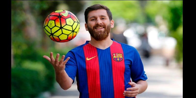 Découvrez le sosie iranien de Messi (photos)
