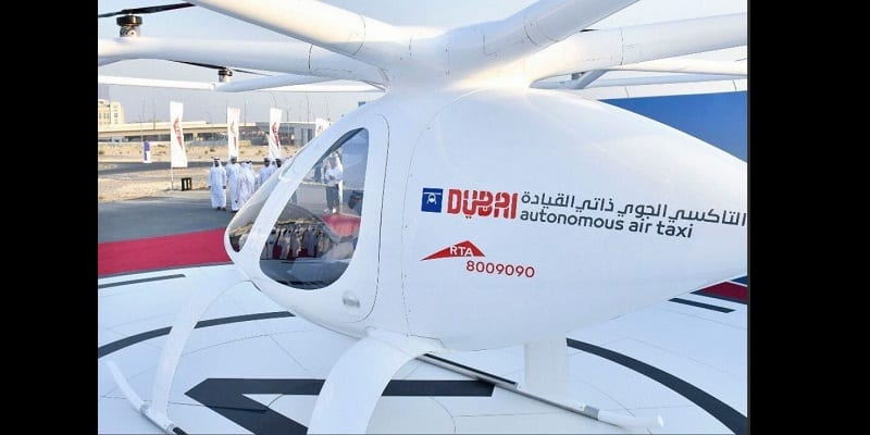 Vidéo: Dubaï lance avec succès le test du premier taxi-volant non piloté au monde