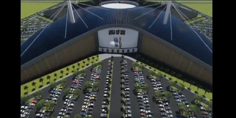 Football: le Ghana veut organiser le Mondial 2038. Découvrez son somptueux stade futuriste (vidéo)