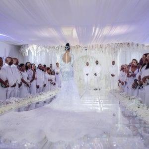 Usa: Vivez en images l'incroyable mariage du rappeur Gucci Mane