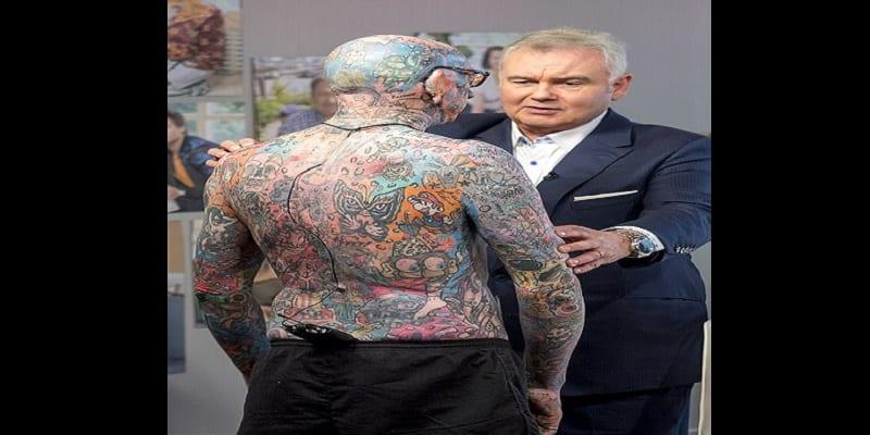 Divers: A la découverte de Paul Allen, l'homme aux 800 tatouages (photos)