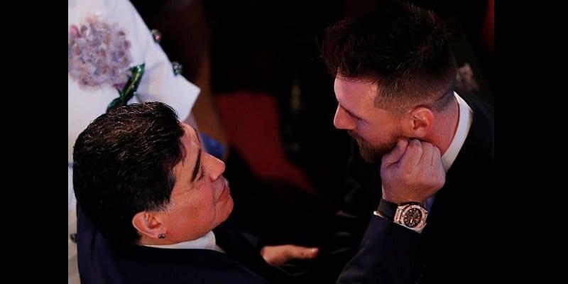 FIFA Awards : Diego Maradona révèle qu'il aurait aimé que le trophée soit remis à Messi (photos)