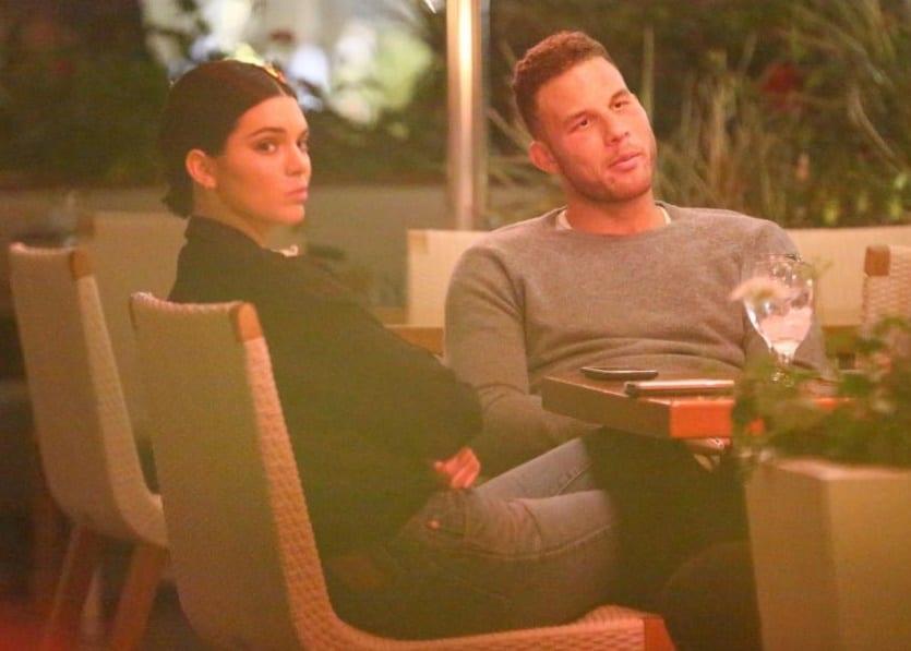 Kendall abandonne sa sœur Kourtney pour son chéri Blake Griffin
