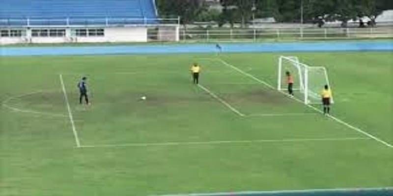 penalty étrange..