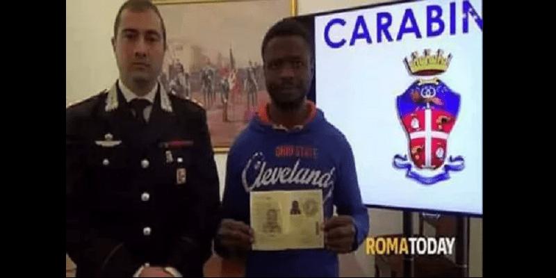 Italie: un immigré clandestin nigérian déjoue une tentative de vol, le gouvernement le récompense (vidéo)
