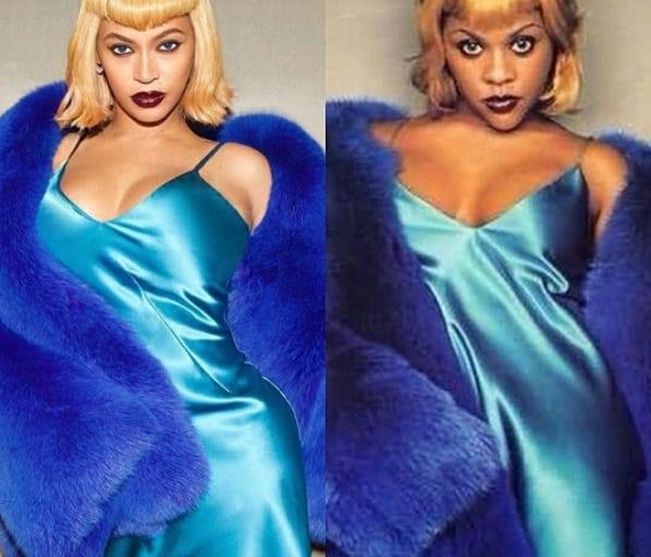 Pour la fête d'halloween, Beyoncé rend un hommage à la rappeuse américaine Lil' Kim (Photos)