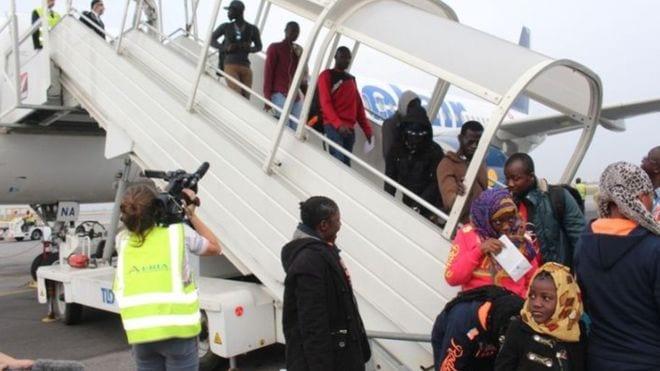 Esclavage en Libye: 155 ivoiriens rapatriés dans leur pays