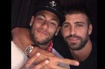 Piqué et Neymar