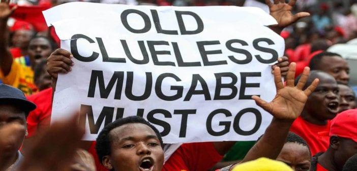 Zimbabwe-Le-president-Mugabe-face-a-la-contestation