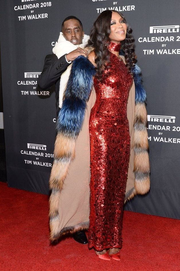Naomi Campbell dévoile son affection pour P. Diddy