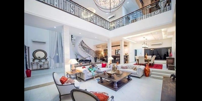 nigeria dcouvrez les maisons de luxe les plus jolies appartenant aux clbrits photos