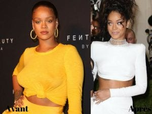 D couvrez ces stars qui ont surpris par leur prise de poids en 2017 - Rihanna poids taille ...