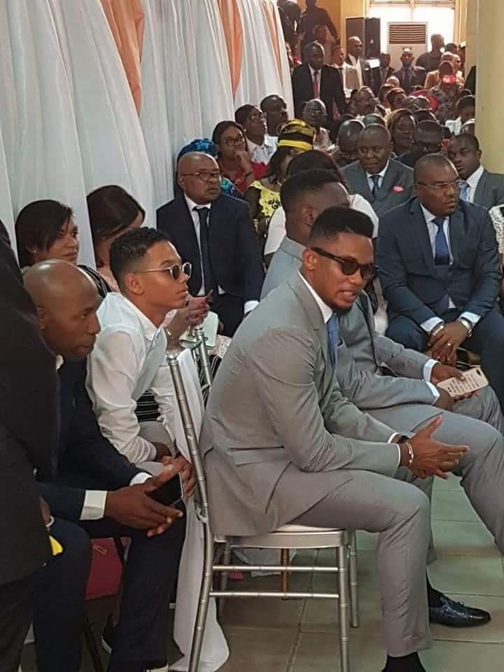 Cameroun: David Eto'o, le frère cadet de Samuel Eto'o s'est marié (photos)