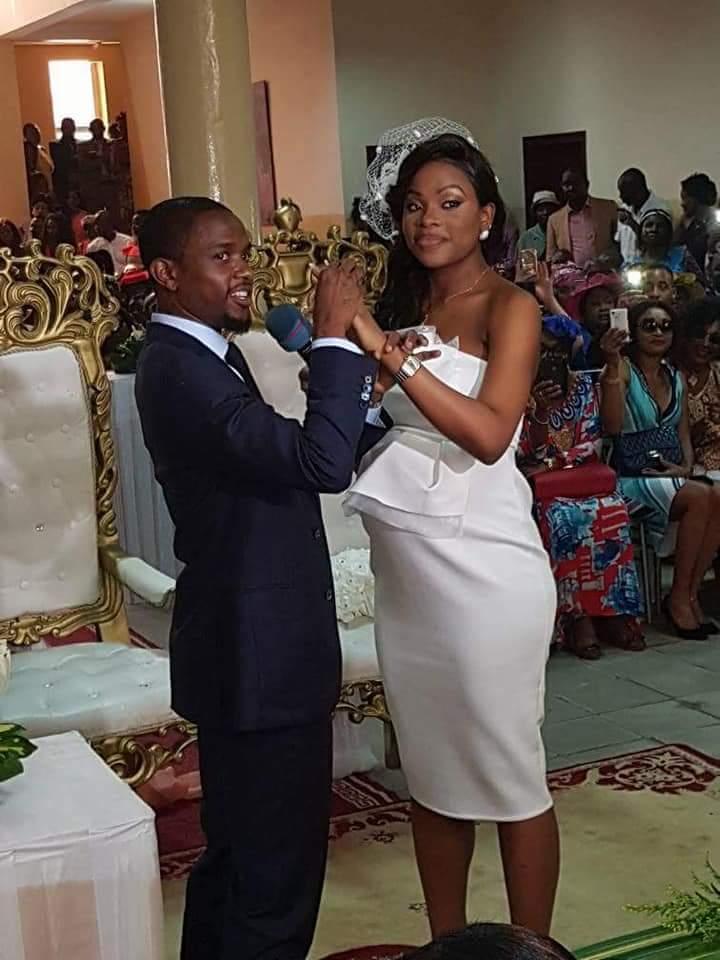 Robe de mariage civil au cameroun