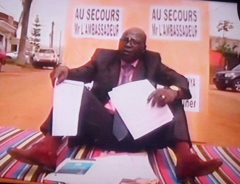 AffaireTuilé et le DG de la CNPS : le journaliste engage une grève de la faim (photo)