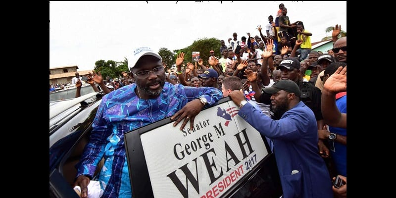 Liberia : George Weah favoris au second tour de la présidentielle (photos)