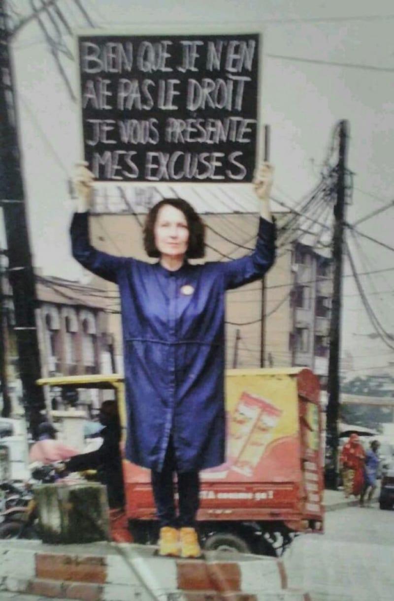 Cameroun: la sculpture d'une artiste française détruite à Douala