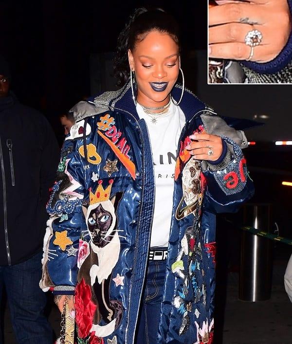 Rihanna fiancée à son milliardaire saoudien Hassan Jameel? Sa bague enflamme la toile