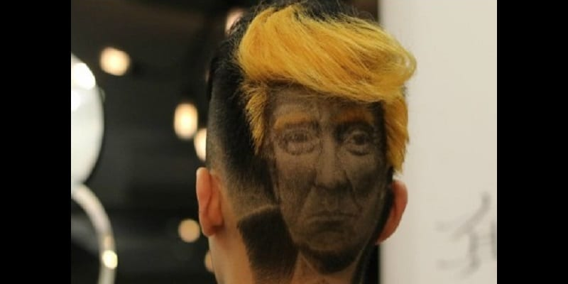 "Taiwan: The tattoo with the ""Donald Trump cup"" ignites the canvas (video)"