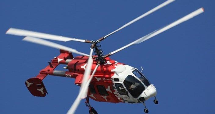 Russie: Un nouvel Hélicoptère télécommandé testé pour porter des charges utiles