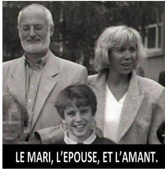 France: Retour sur cette image qui fait le buzz ( le mari, l'épouse, l'amant)