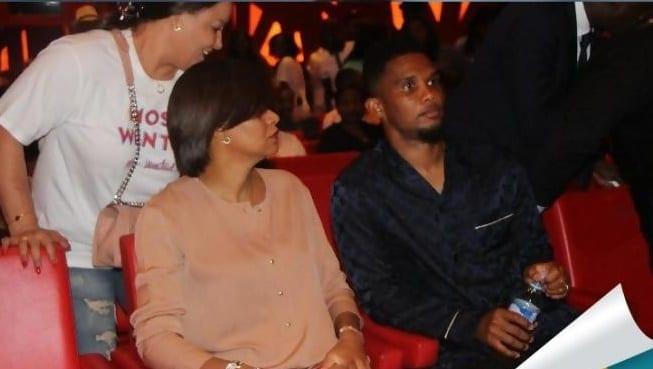Concert de fally Ipupa à Abidjan: Samuel Eto'o fait le buzz avec sa tenue(photo)