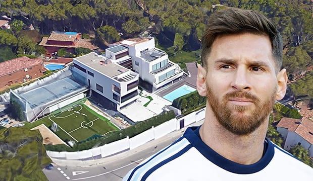 FC Barcelone: Découvrez la somptueuse villa de Lionel Messi (Vidéo)