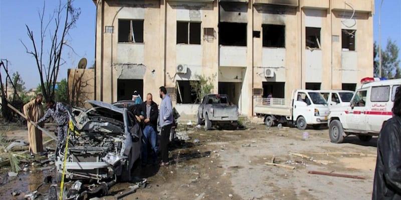 attentat, Libye