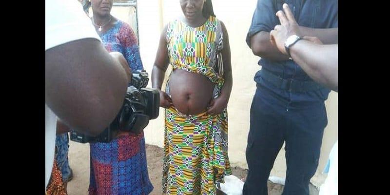Guinée-Conakry: une «faiseuse» de grossesse mise aux arrêts (photo)