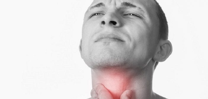throat or neck irritation
