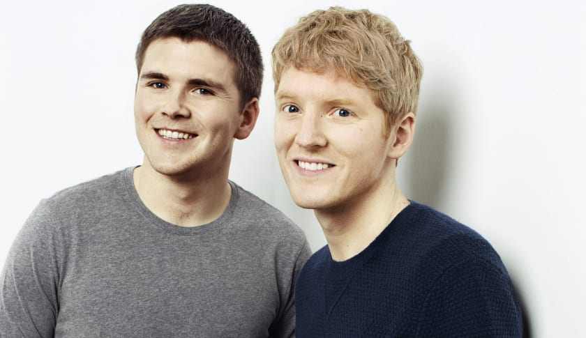 john collison, 27, is the youngest self-taught billionaire in the world