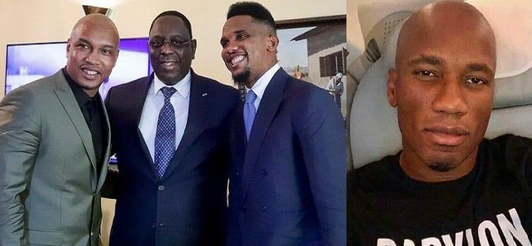 Investiture de George Weah: Macky Sall, Eto'o, Drogba, Diouf  parmi les invités (photos)