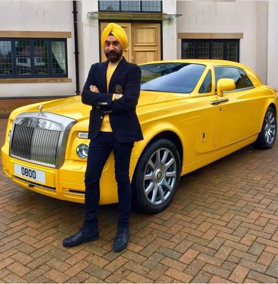 Sardar Reuben Singh: le millionnaire qui s'habille selon la couleur de ses voitures (photos)