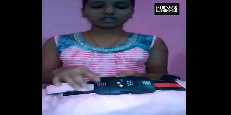 Inde: elle fabrique un sous-vêtement avec verrou et alerte GPS pour prévenir le viol (vidéo)