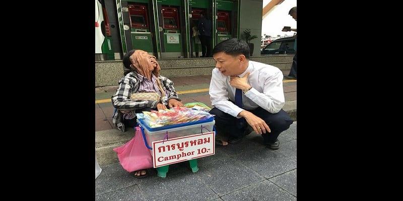 Thaïlande: cette grand-mère souffre d'une maladie qui fait fondre son visage (photos)
