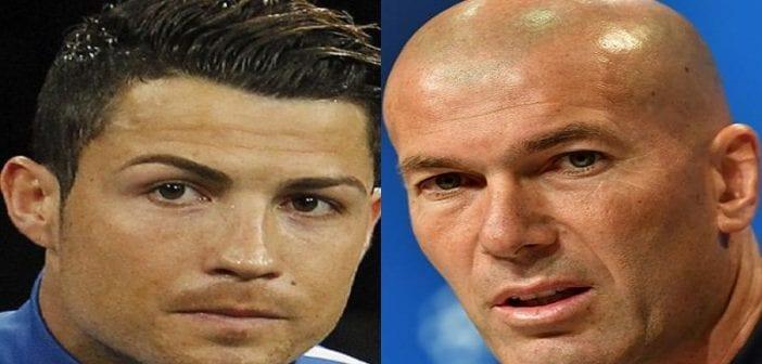 Real Madrid: Zidane prend position concernant le transfert de Cristiano Ronaldo
