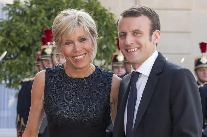 Emmanuel-macron-et-Brigitte-Trogneux