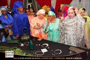 Sénégal: La Première Dame offre un dîner à ses homologues...