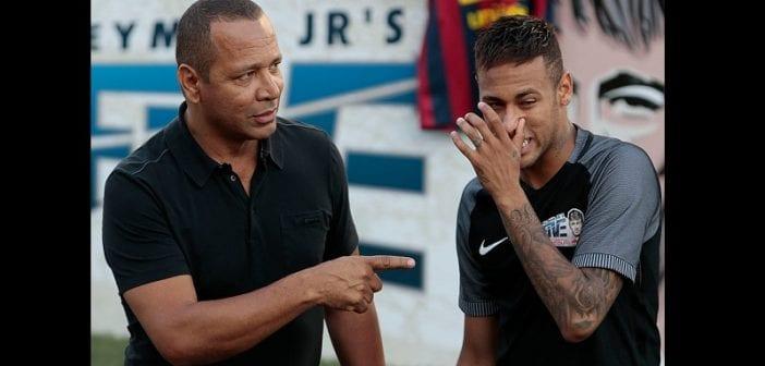 PSG-Real Madrid: Critiqué par les fans, le père de Neymar prend sa défense