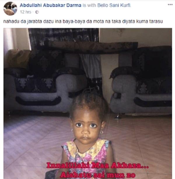 Nigeria: Un homme raconte comment il a tué par erreur sa fille