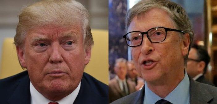 Bill Gates s'insurge contre la politique fiscale de Trump. Le milliardaire voudrait payer plus.