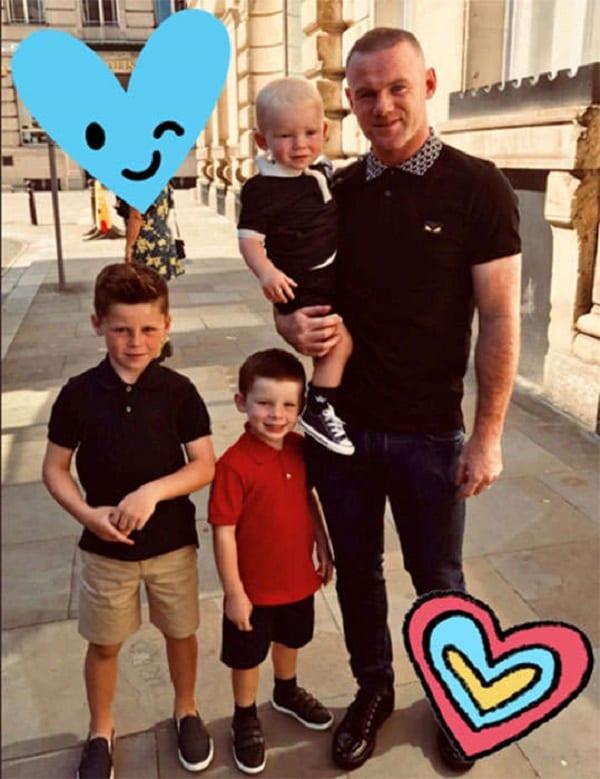 Wayne Rooney: Son épouse Coleen donne naissance à leur quatrième enfant (photo)