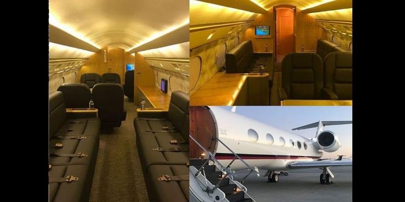 People: Floyd Mayweather s'offre un jet privé de luxe pour son anniversaire (photos)
