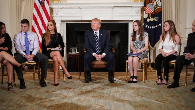 USA: Fusillade de Parkland, l'hallucinante proposition de Donald  Trump