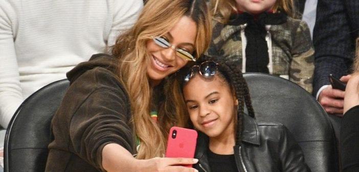 People: Blue Ivy écrit une lettre à sa mère Beyoncé et sa grand-mère