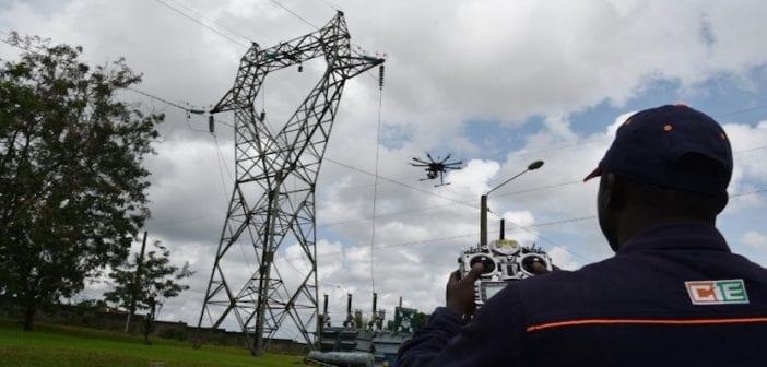 Coteivoire-énergie-électricité-technologies-drone