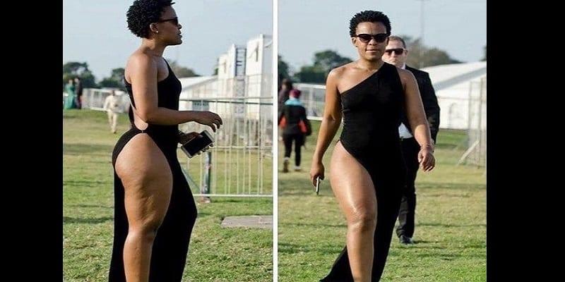Zambie la danseuse sud africaine qui ne porte pas de for Elles ne portent jamais de sous vetement