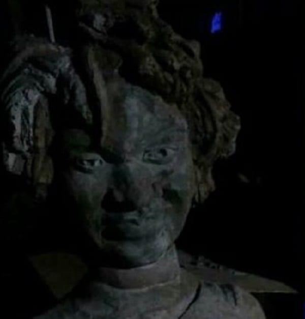 Ghana: Une mystérieuse statue de la défunte chanteuse Ebony crée la polémique