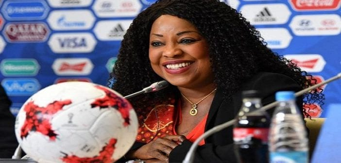 fatma samoura africa top sports